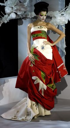 Christian Dior   Spring 2007 Couture   Anna Chyzh