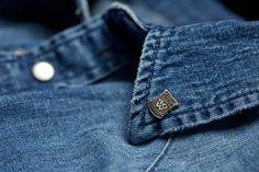 Tessuto #denim, dettagli #40weft #details #fashion
