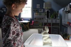 Make 'elephant toothpaste'- mix together basic ingredients and watch it explode!