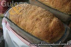 Este Pão Integral de Batata Doce Aromático tem um aroma incrível, é fofinho e é perfeito para o #lanche!  #Receita aqui: http://www.gulosoesaudavel.com.br/2016/05/16/pao-integral-batata-doce-aromatico/