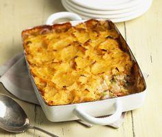 Turkey Pie With Two-Potato Topping Recipe