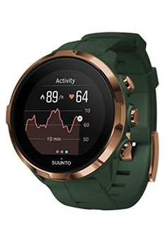 Suunto Spartan Sport Wrist HR is an advanced multisport GPS watch sporting wrist heart rate measurement, color touch screen, water resistance and up to of battery life in training mode. Smartwatch, Sport Watches, Watches For Men, Wrist Watches, Gps Watches, Stylish Watches, Luxury Watches, Spartan Sports, Android Watch