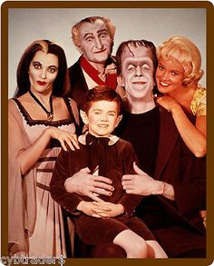 #1960's the #munsters tv show refrigerator / tool box #magnet, View more on the LINK: http://www.zeppy.io/product/gb/2/310846309292/