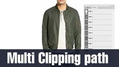Adobe Photoshop Multi Clipping Path Tutorial