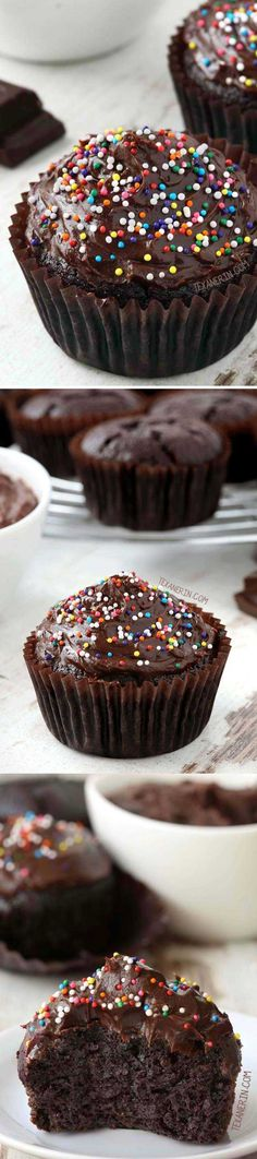 Healthy Desserts To Try Tonight - Paleo Chocolate Cupcakes - Easy And Yummy DIY Health Desserts Under 100 Calories To Try Tonight. No Bake Desserts From Scratch You Can Make In A Mug With No Sugar And Easy To Eat Clean. Recipes For Chocolate Desserts For One And Weight Watchers Ideas For Summer, For Fall, And For Winter. Quick Paleo And Low Carb Cookies And Desserts With Fruit You Can Make At Home By Yourself That Are No Guilt, Guilt Free, And Healthy. Loose Weight And Get A Flat Belly But…