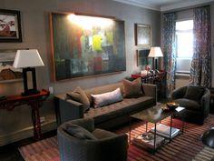 Living Room Ideas Dark Wood Floor