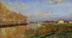 Claude Monet The Seine at Argenteuil (Vanilla Sky) canvas art. Add a frame or choose other sizes for your Claude Monet The Seine at Argenteuil (Vanilla Sky) canvas art. stretched canvas art also available. Impressionist Landscape, Impressionist Paintings, Claude Monet Pinturas, Pierre Auguste Renoir, Landscape Prints, Landscape Paintings, Artist Monet, Vanilla Sky, Monet Paintings