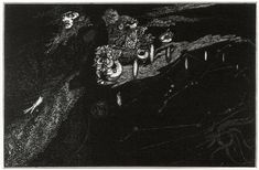 """Harry Clarke, 1915, for """"Rime of the Ancient Mariner"""""""