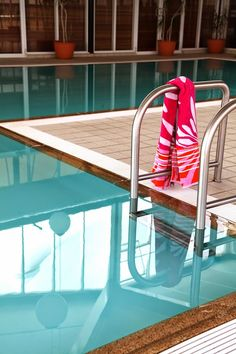 Take a dip in the heated pool after a long day of skiing, at Rydges Horizons Snowy Mountains.