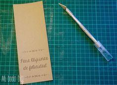 DiY: Pañuelos para lágrimas de felicidad | Weddbook.com