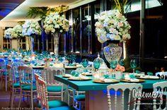 azul tiffany com rosa casamento - Pesquisa Google