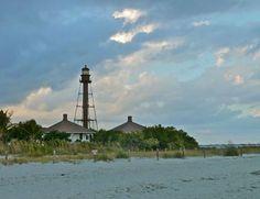 Sanibel Island Lighthouse - Sanibel Island, Florida, USA.
