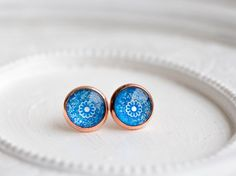 Studs Earrings posts rose gold earrings thank you Jewelry Tiny Earrings, Rose Gold Earrings, Druzy Ring, Studs, Handmade Jewelry, Women Jewelry, Posts, Top, Asparagus