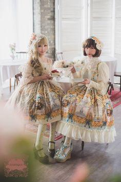 """Baroque x Sakizo 3rd collaboration """"Secret garden"""" catalog"""