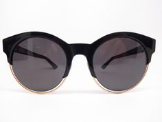 3c6469b526a62 Dior Sideral 1 J63Y1 Black Rose Gold Round Womens Sunglasses - Add this one  to your. Eye Heart Shades