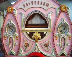 42key Universum Fairground Organ by Gebrder Bruder