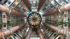 Higgs Boson Images of the incredible Large Hadron Collider the world's largest and highest energy particle accelerator. This billion euro machine has revealed the Higgs Boson, the elementary subatomic particle. Stephen Hawking, Particle Collider, Cern Collider, Bomba Nuclear, Elementary Particle, Particle Accelerator, Large Hadron Collider, Higgs Boson, String Theory