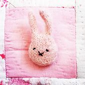 Ravelry: Tiny bunny badge pattern by Claire Garland
