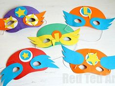 Superhero Mask -- Best Kids' Crafts for Boys
