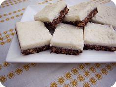 PaisleyJade: Coconut Iced Chocolate Slice (no bake)