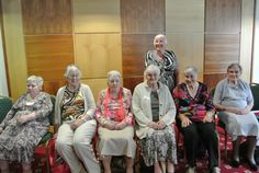 Five sisters who attended The Ivers Clan Gathering Celebrations