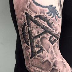 #letters #lettering #text #tattoo #blackandgrey #blackandwhite #realistic @risingbastards