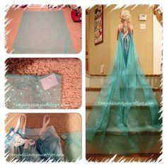 DIY Elsa Inspired Dress – How Do You Make The Cape?