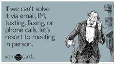 Funny Friday: How many forms of #communication do you engage in? #funny #humor #TGIF