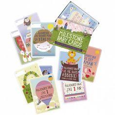 Le pack Bébé de 30 cartes préimprimées par Milestone baby cards est un cadeau de naissance très apprécié des mamans ! Les cartes permettent de retracer les instants précieux de la croissance de bébé et immortalisent les premiers évènements marquants de sa vie. Une manière ludique de prendre des photos pour de magnifiques souvenirs !    Avec les cartes illustrées de Milestone baby cards, personnalisez vos photos, passez de bons moments et soyez sûres de conserver des souvenirs originaux…