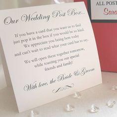 Personalised Wedding Post Box