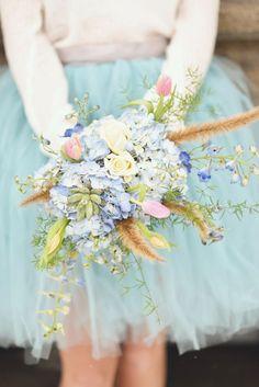 Blue Tulle & Sparkles