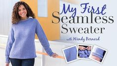 Make knitting seamless sweaters easy! Take your circular knitting skills to the next level as you learn how to create well-fitting garments.