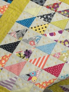 Jen-Kingwell-Gardenvale-Awesomeness: an idea for the Gardenvale scraps, love the hand quilting