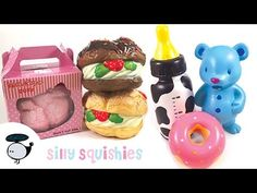 Bunny Cream Puff Squishy : Amazon.com: bear as bunny bread squishy cellphone charm: Toys & Games Kawaii Pinterest ...