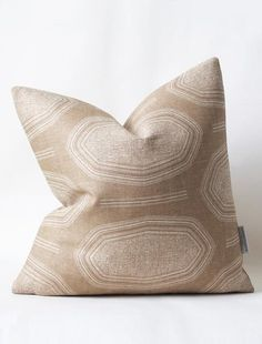 Susan Connor New York | Kamba Pillow, also available as fabric by the yard