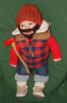 I'm sure our little one would love this! Perfect up north outfit #MSPDestination