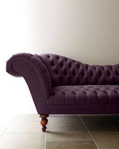 Old Hickory Tannery Ellsworth Recamier Sofa