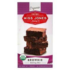 Miss Jones Organic Brownie Baking Mix (6x14.67 OZ)