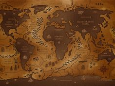 fantasy map. alternate world. what if?
