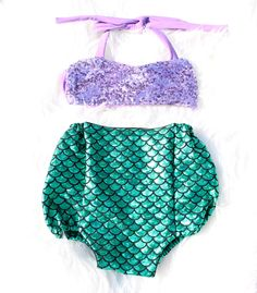 Mermaid Sparkle Bathing Suit – Belle Threads
