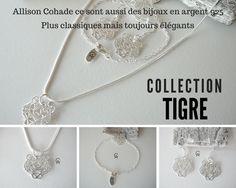 Bijoux en argent 925 Allison Cohade #Bijoux # AllisonCohade #Argent925 #Qualite #Elegance #Classique