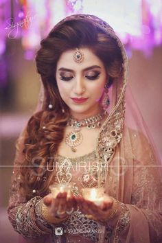 Elegant pakistani bridal makeup before and after images - Makeup Tips For Redheads Pakistani Bridal Makeup, Pakistani Wedding Dresses, Indian Bridal, Pakistani Bridal Hairstyles, Engagement Makeup, Engagement Dresses, Pakistan Bride, Bridal Makeover, Braut Make-up