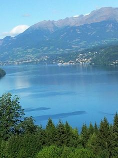 Millstätter See Austria, Places To Go, Notes, Mountains, Nature, Travel, Outdoor, Lake Pictures, Nature Pictures
