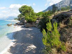 Baška Voda, Baško Polje - naše pláž - Chorvatsko 2014. jhrdy.webgarden.cz.  #JiříHrdý #Croatia #Kroatien #Chorvatsko #Adria #Jadran #cestování #bungalovyUranija