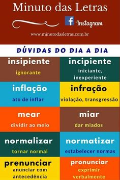 Build Your Brazilian Portuguese Vocabulary How To Speak Portuguese, Portuguese Grammar, Learn Brazilian Portuguese, Portuguese Lessons, Portuguese Language, Language Study, Learn A New Language, English Tips, Study Notes
