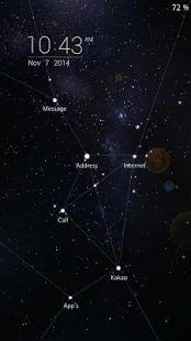 우주 별자리 버즈런처 테마 (홈팩) - screenshot thumbnail