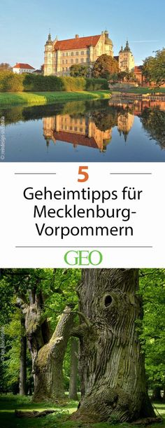 Germany: Five insider tips for Mecklenburg-West Pomerania Solo Travel Europe, Camping Europe, City Breaks Europe, Top Europe Destinations, Vacation Mood, Cities In Italy, Camping Holiday, Holiday Travel, Holiday Places