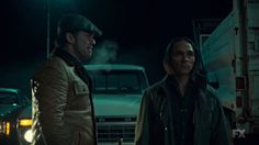 "Fargo 2x03 ""The Myth of Sisyphus"" - Dodd Gerhardt (Jeffrey Donovan) & Hanzee Dent (Zahn McClarnon)"