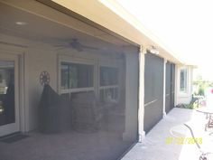 Let Cool Screens Texas screen in your patio. We also can install a garage door screens from Lifestyle screens.