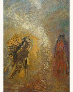 'Apparition', c. 1905 - Odilon Redon (1840–1916)